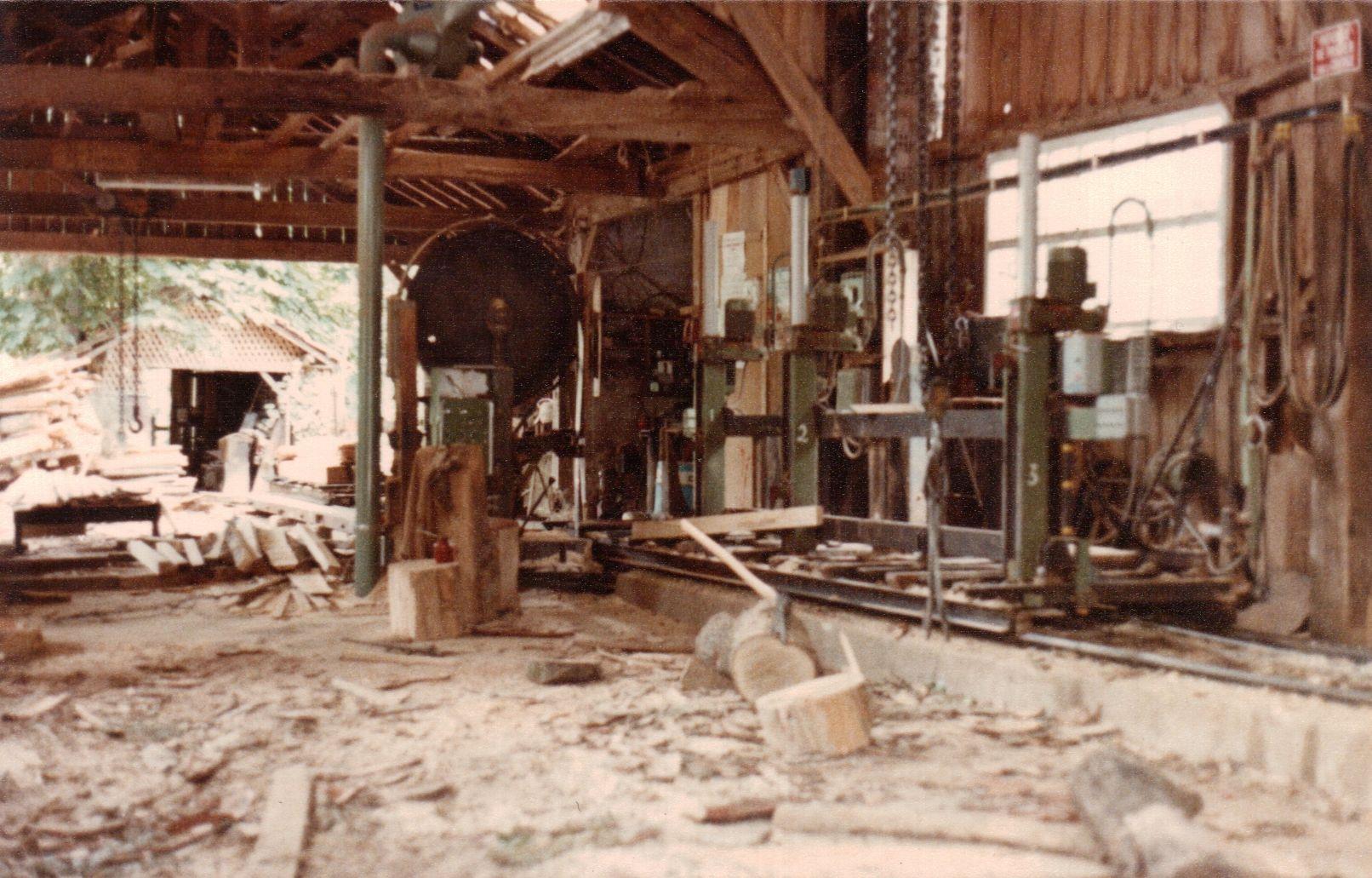 La scierie - Juin 1979