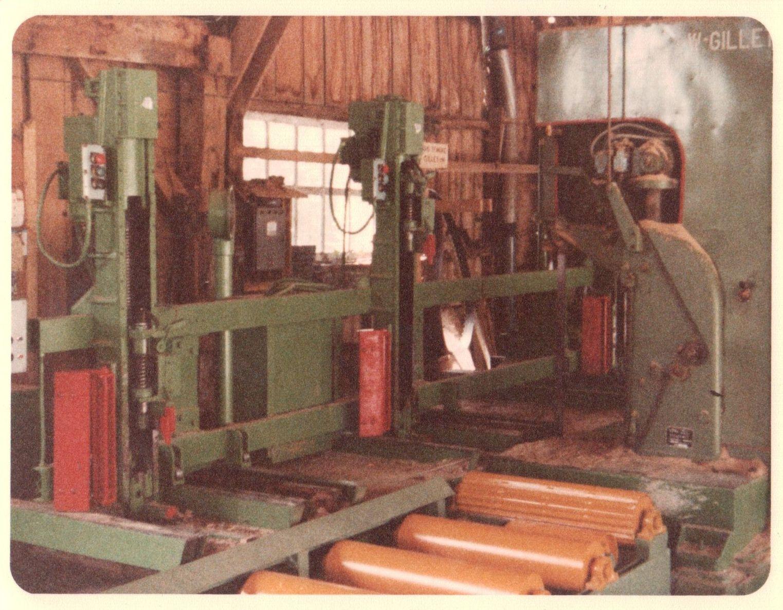 Le chariot en 1982