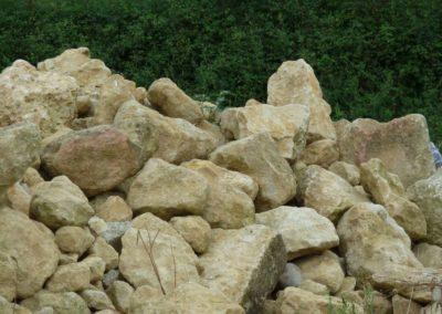 La pierre de récupération