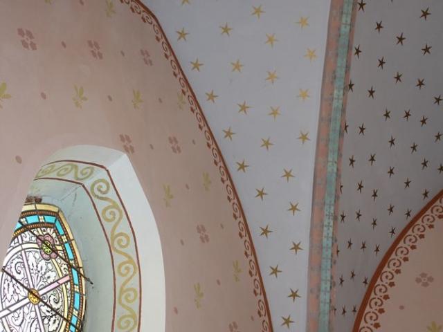 Le ciel étoilé de la Chapelle