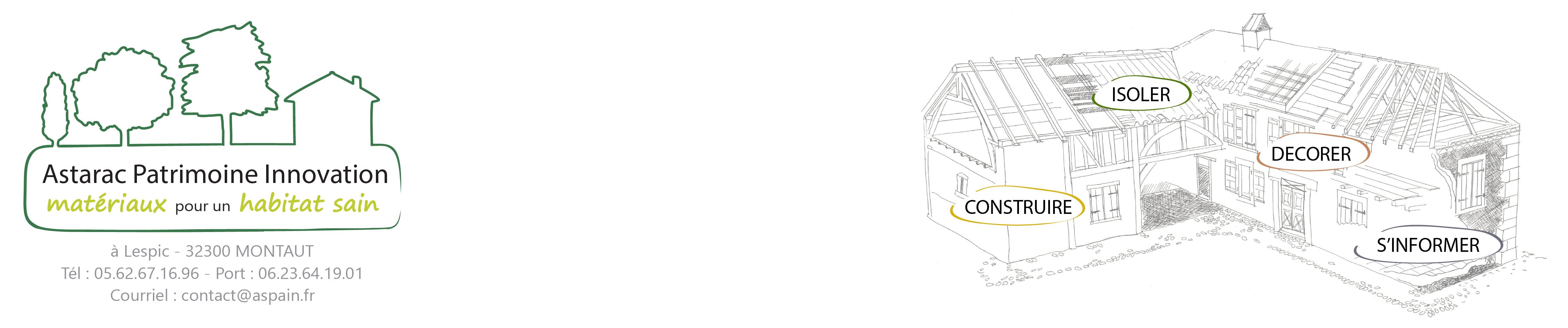 plan du site astarac patrimoine innovation. Black Bedroom Furniture Sets. Home Design Ideas